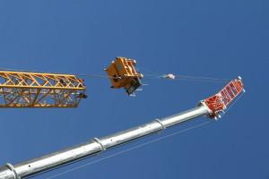 Tower Crane Erection, Auckland